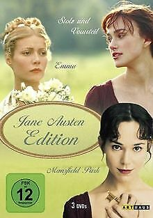 Jane Austen Edition [3 DVDs] von Douglas McGrath, Patrici... | DVD | Zustand gut