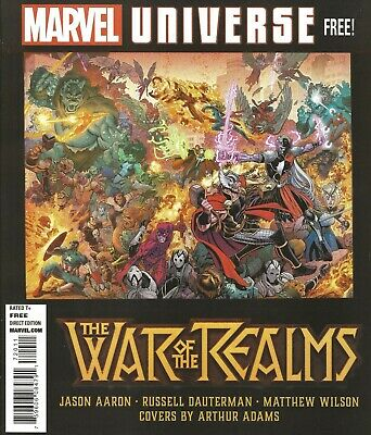 War Of The Realms Magazine #1 May 2019 Marvel One-Shot