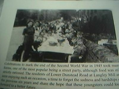 book picture heanor celebrations 1945 end of WW2 lower dunstead road langley mil