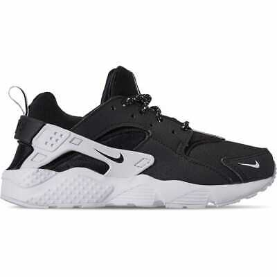 4542edf4c5 Boys Little Kids Nike Huarache Run SE Casual Shoes Black/Black/White AR3188  006