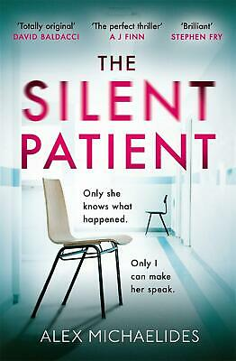 The Silent Patient by Alex Michaelides Hardcover Book Free Shipping!