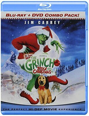 Dr. Seuss' How The Grinch Stole Christmas [Blu-ray] [2000] [US Imp... -  CD TSVG