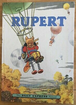 RUPERT ANNUAL 1957 NOT Inscribed Price clipped PAINTING Untouched FINE