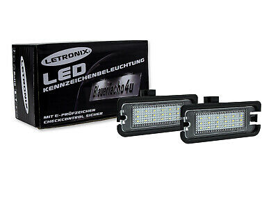 LETRONIX SMD LED Kennzeichenbeleuchtung Module Ford Mustang 2015-2017