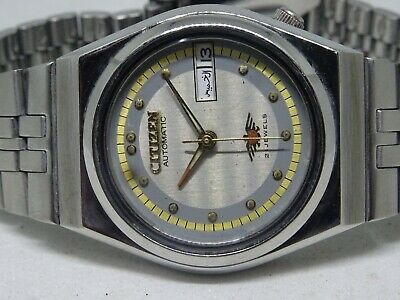 6309 Gold Plated Seiko 5 Automatic Day&date Green Color Dial Roman Figure Watch