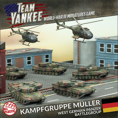 Flames of War: Team Yankee - Kampfgruppe Muller