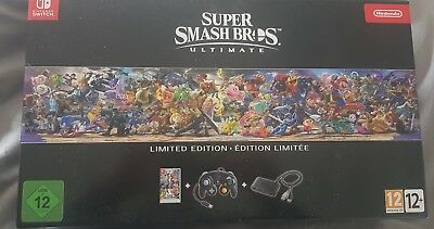 Super Smash Bros Ultimate Collector Switch