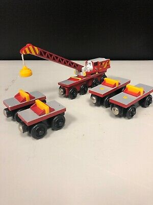 Thomas The Train Rocky The Crane And Tank Friends Wooden Rockys