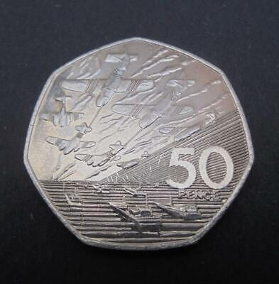 1994 D-Day 50th Anniversary 50p Coin Uncirculated