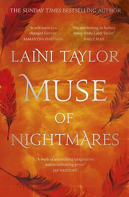 Muse of Nightmares: the magical sequel to Strange the Dreamer by Laini Taylor Pa