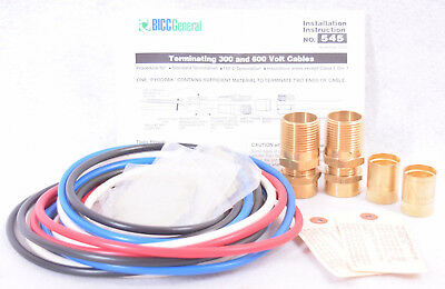 Pyrotenax Pyropak 545 Termination Kit for 300 & 600 Volt Cables