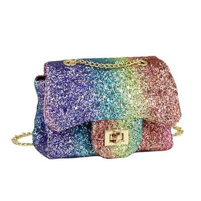 069a81e4f9f4 CMK Trendy Kids Sparkly Glitter Toddler Purse for Girls Quilted Little Girl.