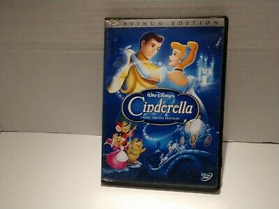 Walt Disney''s Cinderella (DVD, 2005, 2-Disc Set Special , Platinum Edition