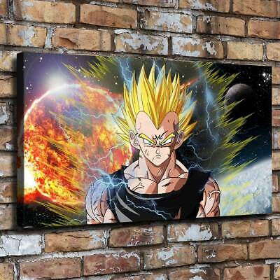 "12""x22""Dragon Ball HD Canvas prints Painting Home Decor Picture Room Wall art"