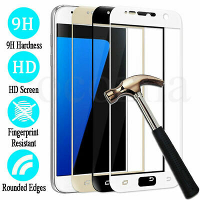3D Full Cover Tempered Glass Screen Protector For Samsung Galaxy J7 PRO 2017