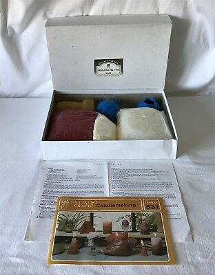 Lightly Used SPECIALIST CRAFTS CANDLEMAKING PACK KIT M900 + Instructions