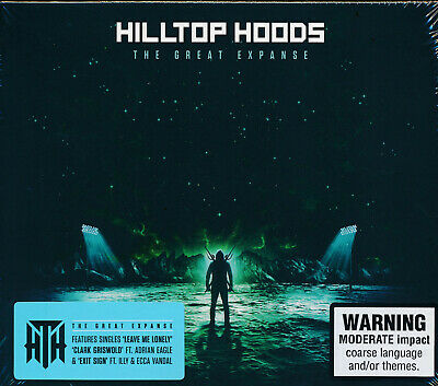Hilltop Hoods The Great Expanse CD NEW Into The Abyss Counterwieght