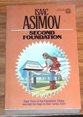 ISAAC ASIMOV Second Foundation(#3)*FINE L/N* VINTAGE DARRELL K.SWEET PB The Mule