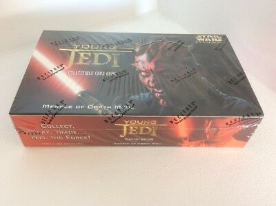 Decipher Star Wars CCG Menace of Darth Maul Booster Box CCG Factory Sealed