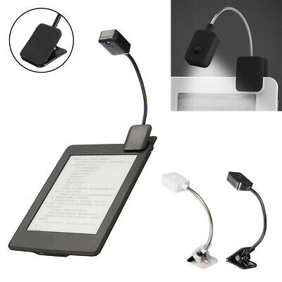 Flexible Neck Clip-on Reading LED Clip Light Lamp for Amazon Kindle E-Reader