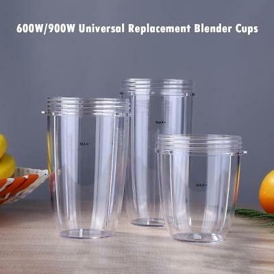 600W/900W Universal Replacement Parts for Nutribullet Juice Blender Cups Mug Cup