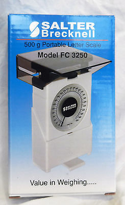 Salter Brecknell 500 gram Mechanical Portable Letter Scale / Scales - BNIB