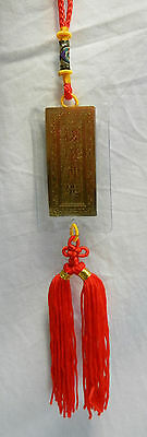 Kwan Yin / Guanyin Hanging Charm - For Home or Car -  Lovely piece - BNWT