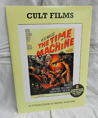 Cult Films - Pack of 8 Varnished Art Prints / Posters - Iconic Images