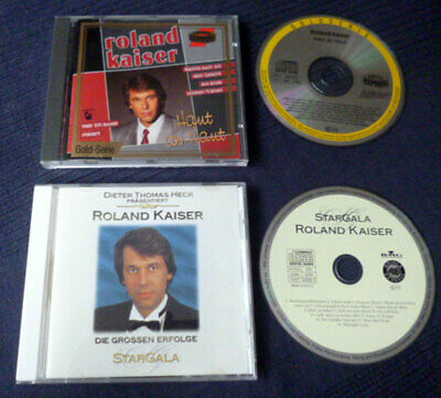 2 CDs Roland Kaiser Best Of Greatest Hits Collection Erfolge Stargala ARIOLA