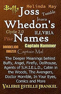 Joss Whedons Names: The Deeper Meanings behind Buffy, Angel, Firefly, Dollhouse,