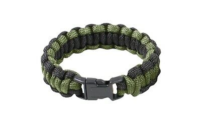 Rothco olive drab black 7 strand paracord 550 cord survival bracelet paracord 9""