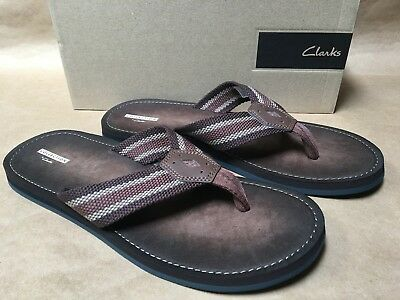 605663cc5 CLARK MEN S LACONO New Bay Slide Sandal Size 11 Nwt Brown -  78.93 ...
