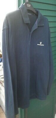 Maserati Maglia Polo Auto Xl Car Shirt Employees Original Mechanic