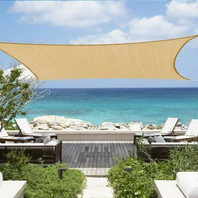 Sun Sail Shade Awings Canopy Garden Sun Summer Cover Patio Screen with Rope