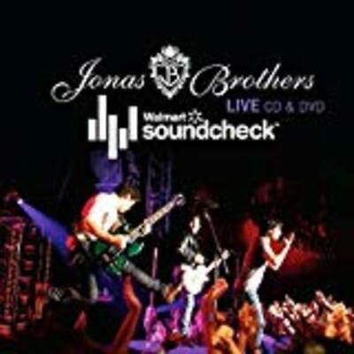 Jonas Brothers - Live-walmart Soundcheck Audio CD - DISC ONLY