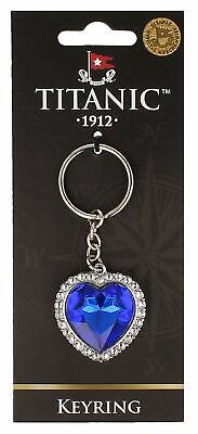 Titanic The Heart of the Ocean Jewel Vintage Collectors Keyring (sg)