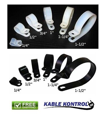 Kable Kontrol Nylon Cable Clamp - (100 Pack)