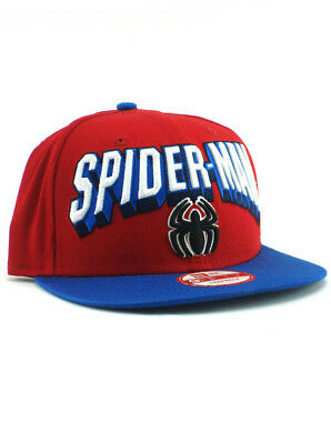 Marvel Comics Spider-Man Venom Hulk New Era 59FIFTY Fitted 9FIFTY Snapback Hat