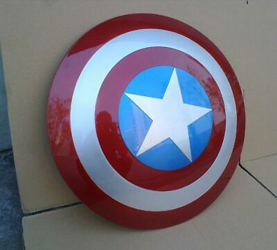 COOL NEW 1:1 The Avengers Captain America Shield Strong ABS Replica PROP Cosplay