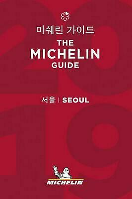 Seoul - the Michelin Guide 2019: The Guide MICHELIN (Chinese) Paperback Book Fre