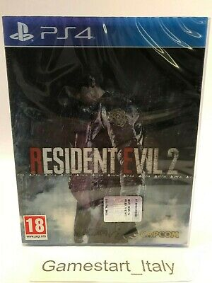 Resident Evil 2 Lenticular Limited Edition Playstation 4 Ps4 New Pal Region Free