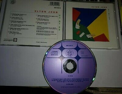 Elton John - 21 at 33 - Purple / Blue Diamond CD Rocket Records