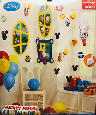 1 X Mickey Mouse Clubhouse Room Transformation Kit By Hallmark Party Decorations