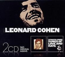 Songs of Leonard Cohen/Songs of Love and Hate von Leo... | CD | Zustand sehr gut