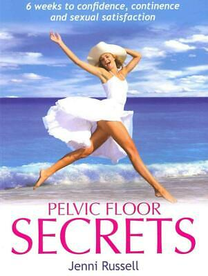 Pelvic Floor Secrets by Jenni Russell Paperback Book Free Shipping!