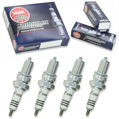 4pcs 85-88 Yamaha BW200 NGK Iridium IX Spark Plugs 196cc 11ci Kit Set Engine in