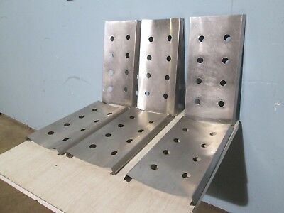Lot Of (6) H.d. Stainless Steel Rack/Deck For 12 Tubs Ice-Cream Dipping Cabinet