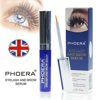 PHOERA® Eyelash Rapid Growth Serum Lengthen Thickening EyeBrow Enhancer UK