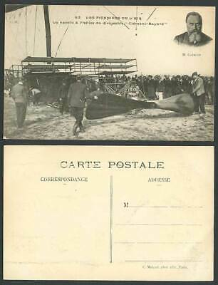 Clement-Bayard Airship Propeller Platform Pioneers ZEPPELIN Balloon Old Postcard