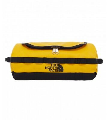 The North Face - Neceser Travel Canister L amarillo, negro / 28x15,2x 5,2 cm /